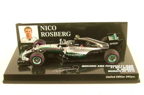 Mercedes AMG F1 Team W07 Hybrid No.6 Monaco GP 2016 (Nico Rosberg)    Die Farbe ist sehr auffällig