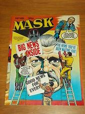 MASK #25 26TH SEPTEMBER - 9TH OCTOBER 1987 IPC BRITISH MAGAZINE