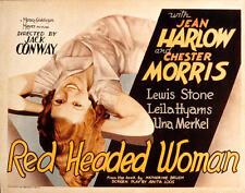 Red-Headed Woman - 1932 - Jean Harlow Chester Morris - Vintage Pre-Code Film DVD