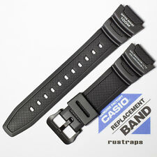 CASIO black rubber watch band for SGW-300H, SGW-400H, 10360816