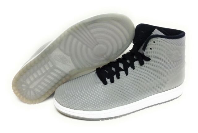 Mens Nike Air Jordan 4LAB1 677690 355 Glow In the Dark Silver Sneakers Shoes