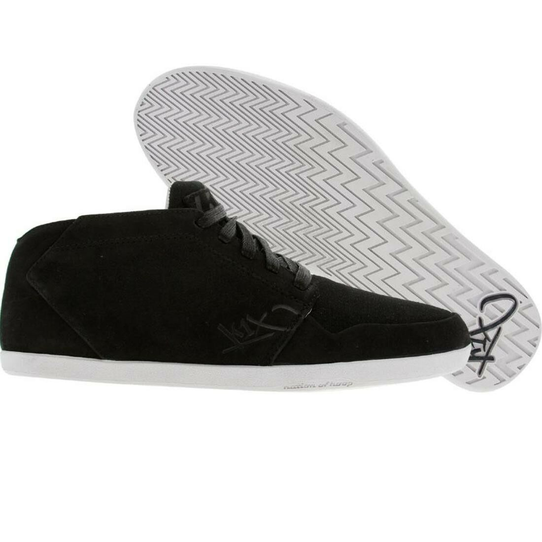 $99.99 Leather K1X KIX Shoes Ip Leather $99.99 black white 0057-0102 689455