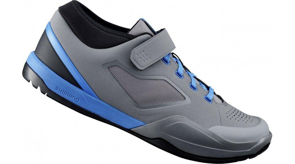 Shimano SH-AM7 Enduro Downhill Trail Off Road Cycling Bike  shoes SPD Grey bluee  new style