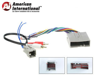audiophile car stereo cd player wiring harness wire aftermarket rh ebay com
