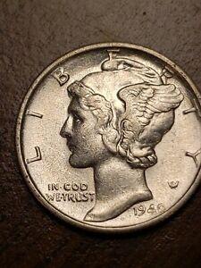1940 S BU Silver Mercury Dime
