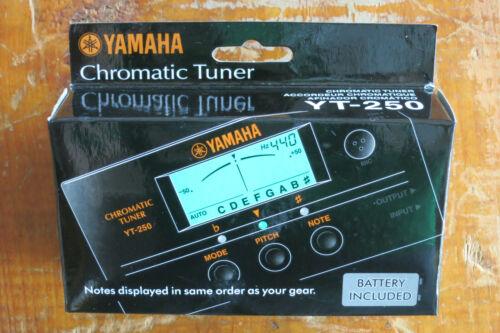Stimmgerät für Gitarre und Bass Yamaha YT-250 Chromatic Tuner