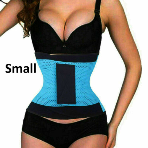 Sport Girdle Waist Belt Trainer Cincher Body Shaper Tummy Corset Belly UK LOT