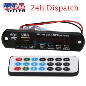 Remote-Control-USB-SD-FM-MP3-Player-Module-Bluetooth-Audio-Receiver-Module-12V