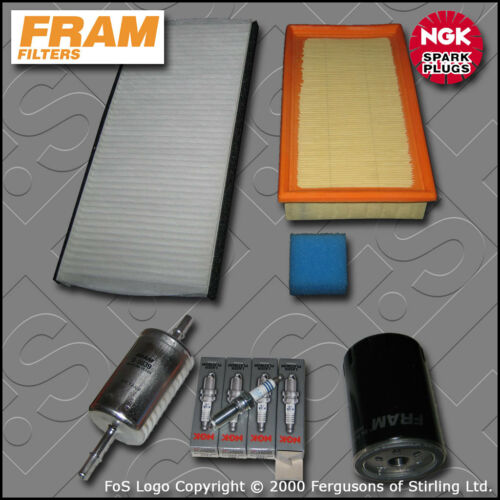 2002-2004 SERVICE KIT FORD FOCUS MK1 ST170 FRAM OIL AIR FUEL CABIN FILTER PLUGS