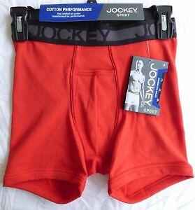 dfd83bdafbc0 Jockey Sport COTTON PERFORMANCE Men's Boxer Brief Size Small - Color ...
