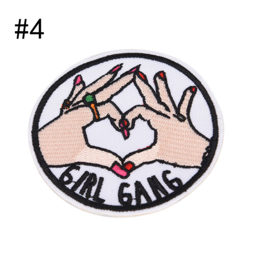 8 Style Patch Embroidered Iron On Applique patches for clothes DIY Accessory ^YH