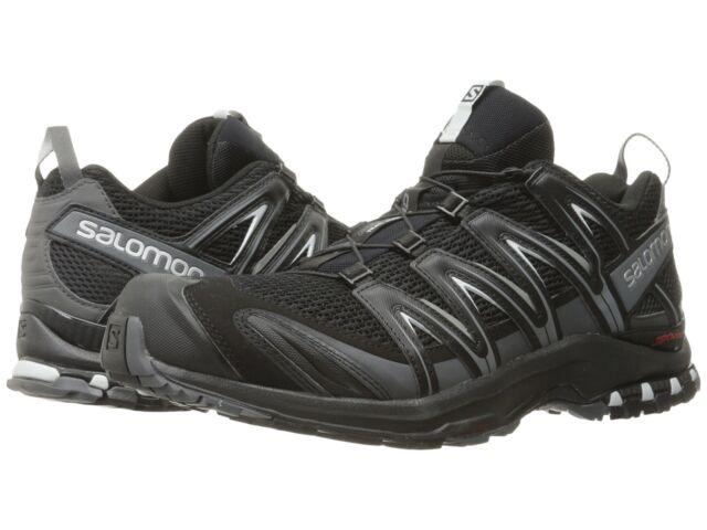 Salomon Men's XA Pro 3D Stability Running Shoes BlackMagnetQuiet Shade
