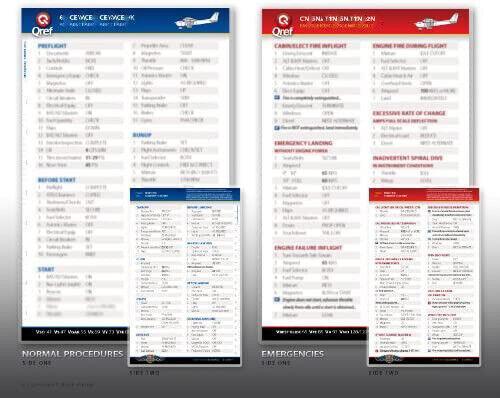 Cirrus SR20 G1-G2 QRef Checklist Card