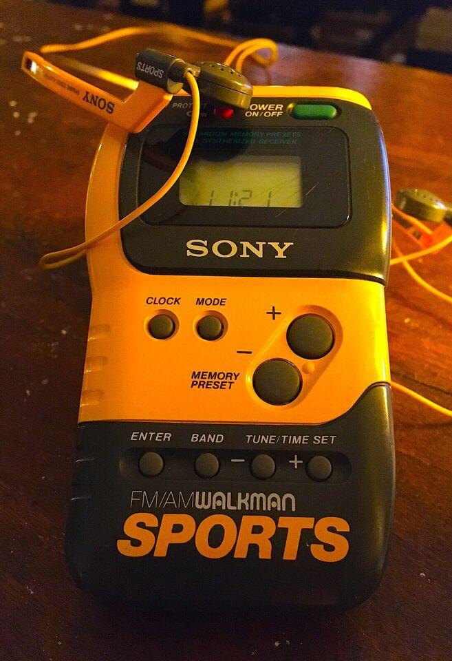AM/FM radio, Sony, Sony FM/AM Sports Walkman