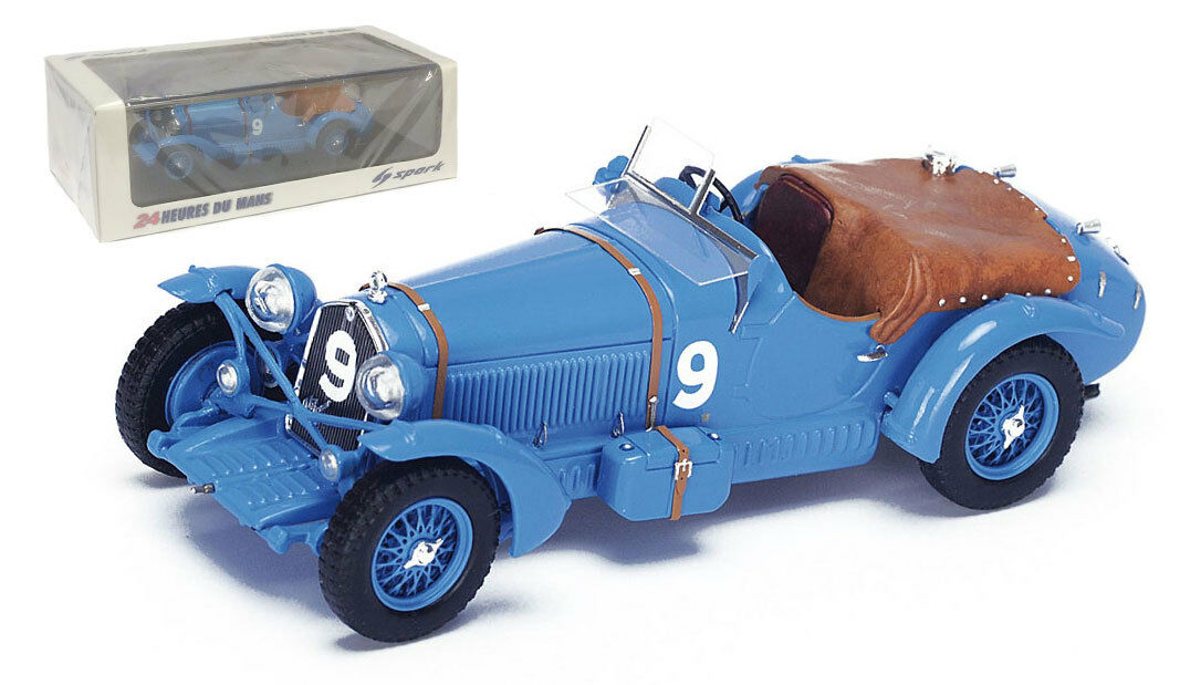 SPARK 43lm34 ALFA ROMEO 8c 2300 LM #9 Le Mans winner 1934-Scala 1/43