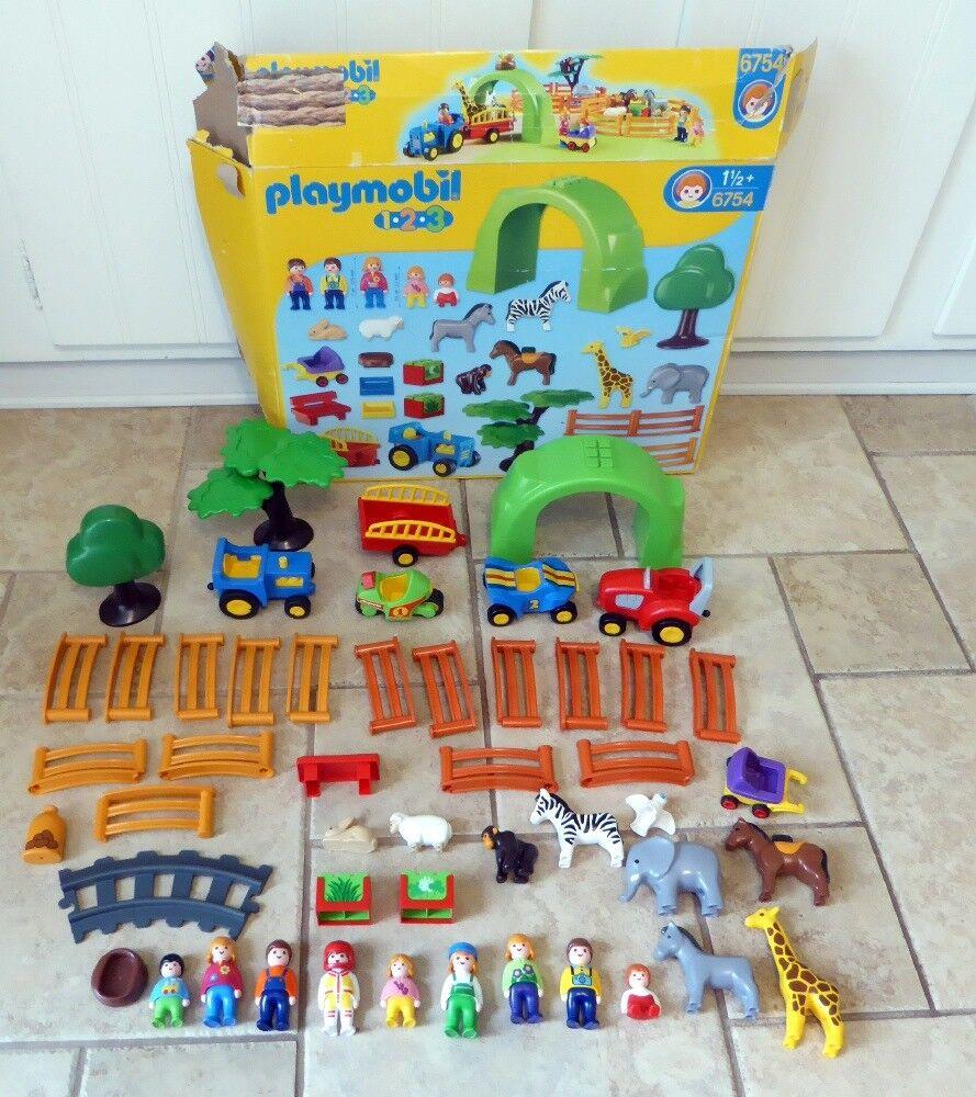 Garanzia del prezzo al 100% Playmobil Playmobil Playmobil Zoo Animal Clinic gree Zoo   Farm Set  6754 + extras  spedizione veloce a te