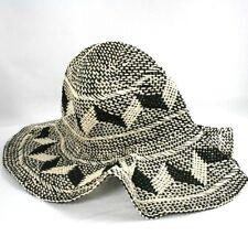 item 8 H M Womens Floppy Straw Sun Hat Black and White 3D Print -H M Womens  Floppy Straw Sun Hat Black and White 3D Print 4870b8583af6
