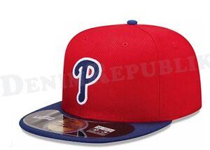New Era 5950 PHILADELPHIA PHILLIES MLB Diamond Era Cap Batting Practice Fitted