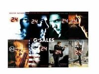 24 Complete Series Season 1-8 (1 2 3 4 5 6 7 8 + Movie) Brand Dvd Sets
