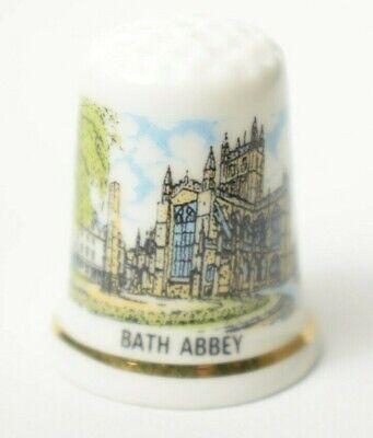 Vintage china thimble Bolton Abbey Holiday souvenir