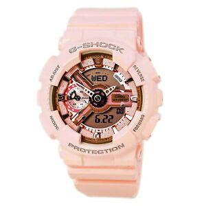 Casio Women's Watch G-Shock S Series Pink & Grey Dial Strap GMAS110MP-4A1