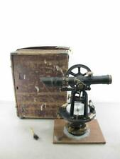 Vintage 1940s 1950s David White 3 12 8 Inch Early Transit Level With Case