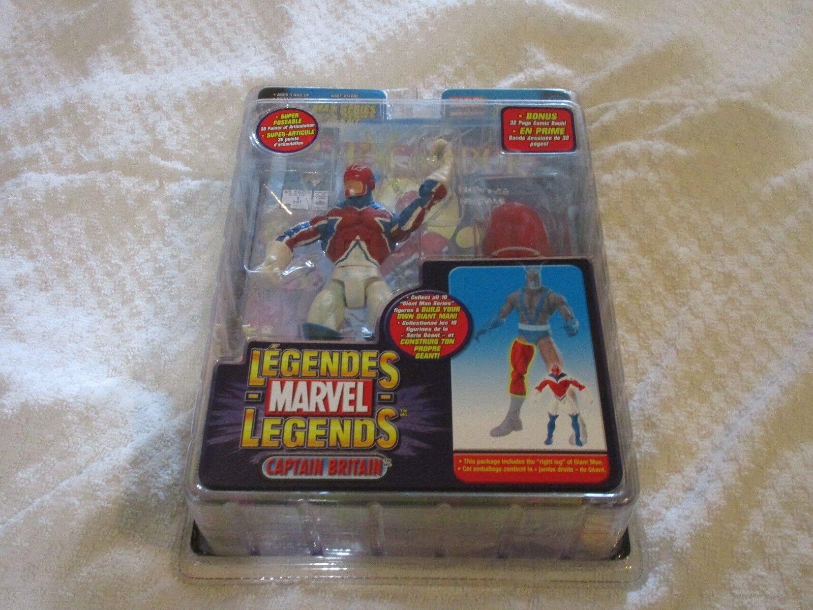 Toy Biz Marvel Legends Giant Man Series Captain Britain Walmart Exclusive Figure