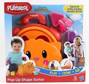 Playskool-Pop-Up-Shape-Sorter-Ages-2-New-Toy-Play-Boys-Girls-Doll-Hasbro-Baby