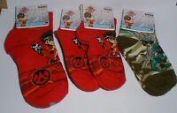 Bakugan Battle Brawlers 4 Pair Of Boys Socks Socks Sz 4-6 And 6-8 W/tags