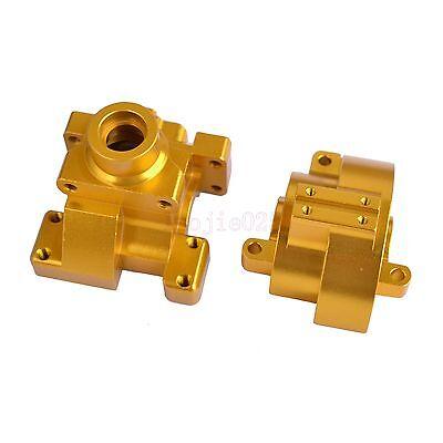 102075 HSP Metal (Al) Gear Box Yellow For 1/10 RC Model Car Upgrade Parts 122075