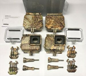 1-Gopro Super Suit Camo Camouflage Timbers Edge Dipped Case H2O HERO-5-6-7 Black