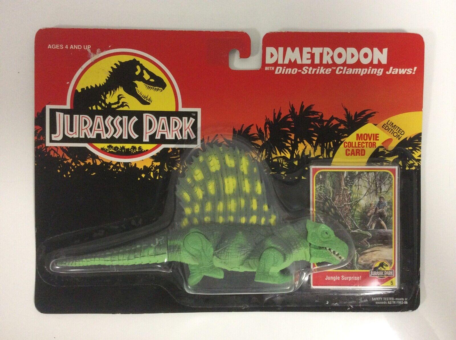 1993 Kenner Jurassic Park Dinosauri Figur - Dimetrodon - MOSC