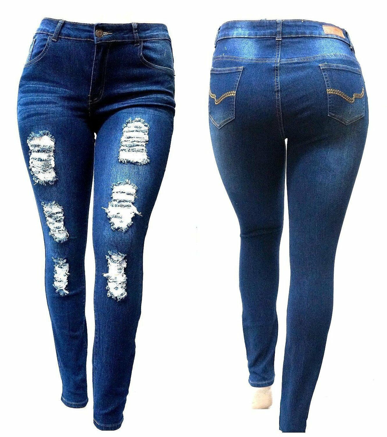 a058c89ca0c stands above the crowd as a premium PLUS SIZE denim Distressed jeans PANTS  brand in its efforts to empower customers with their sexy, comfortable and  ...