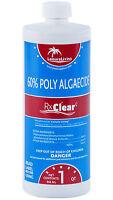 Rx Clear Algaecide 60 Plus Prevents Algae Swimming Pool Chemical-1 Qt on sale