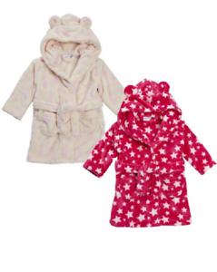 Bebé Niñas Con Capucha Bata Baño Bata toalla niño Polar Súper Suave 6m-24m