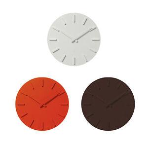 Le Japon Plus Minus Zero Horloge Murale X020 Avec Acier Support Simple Life Style-afficher Le Titre D'origine Ventes De L'Assurance Qualité