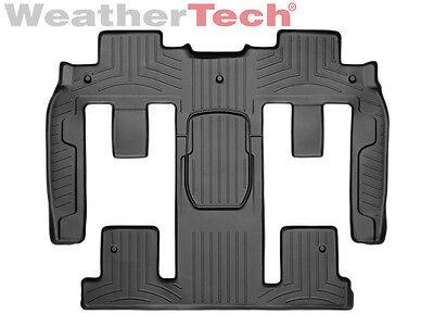 WeatherTech FloorLiner for Enclave/Traverse/Acadia/Outlook- 2nd/3rd Row - Black