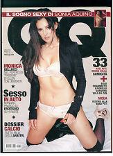 GQ ITALIA 55 APRILE 2004 MONICA BELLUCCI CYPRESS HILL SOCRATES MODA BRAD PITT