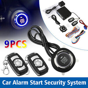 Car-Auto-Alarm-System-Security-Keyless-Entry-Push-Button-Remote-Engine-Start-Kit