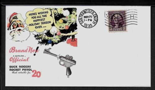 Buck Rogers 1930s Atomic disintegrator featured on Collector/'s Envelope *205