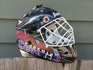 Phoenix-Coyotes-Franklin-goalie-helmet-street-hockey-man-cave-room-decor-NHL
