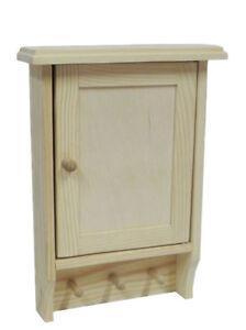 Image Is Loading Wooden Key Cabinet Cupboard Rack Holder Wall Plain