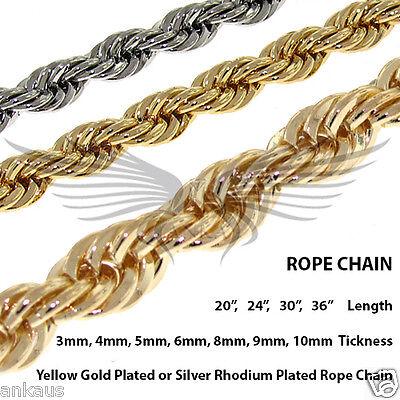 "Men/'s Gold and Silver Color Herringbone Chain 5 6 7 9 11 14 18/"" 20/"" 24/"" 30/"""