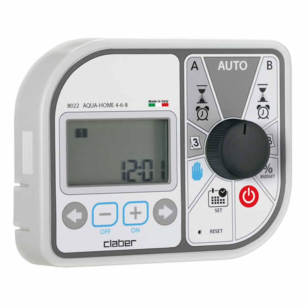 Programmatore Aqua-Home 4-6-8 Claber 8022 Per Irrigazione