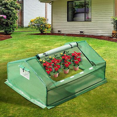 Outsunny Mini Greenhous Patio Portable Tunnel Zipper Garden Plant Protector 1.8M