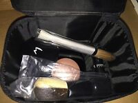 Mojave Magic Michael Maron Brush Set + Empty Compacts With Case