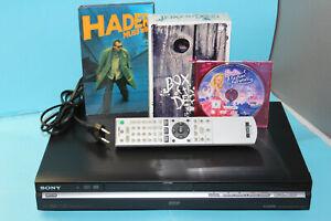 SONY-RDR-HX650-HDD-DVD-Recorder-160-GB-HDMI-DivX-1080p-Upscale-incl-DISCS