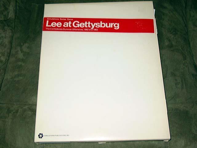 SPI-Lee en Gettysburg Juego-Julio de 1863 Pennslyvania-Raro Caja blancoa modificar