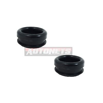 """Pair of Steel Valve Cover Rubber Grommet Plug Breather 1/"""" ID /& 1-1//4/"""" OD Ford"""