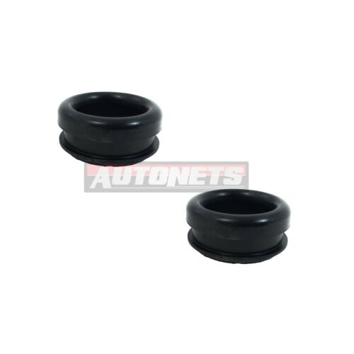 """Chrome Steel Valve cover Rubber Grommet Breather 1-1//4/""""1.25/"""" OD/& 1/""""ID Chevy Ford"""